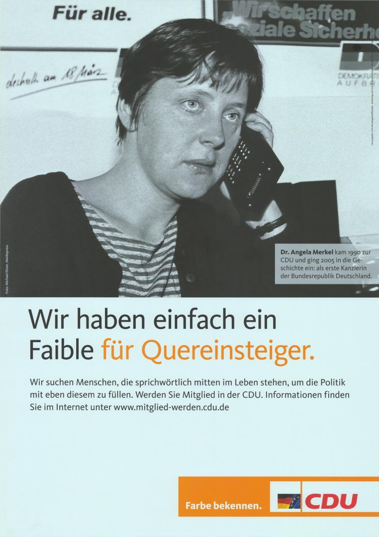 Nackt angela merkel früher Merkels Umkleide