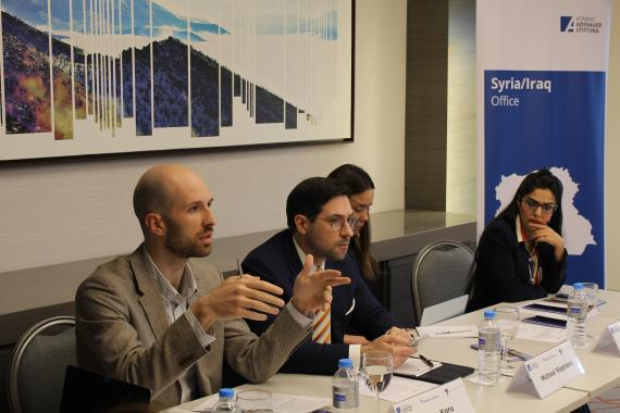 Atlantic Council, Foreign Policy Research and KAS Discussing Arab-Kurdish Relations in Northeast Syria