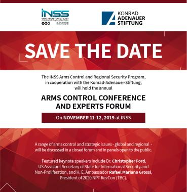 Arms Control Conference save the date