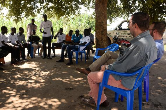 A Visit to Rhino Refugee Settlement