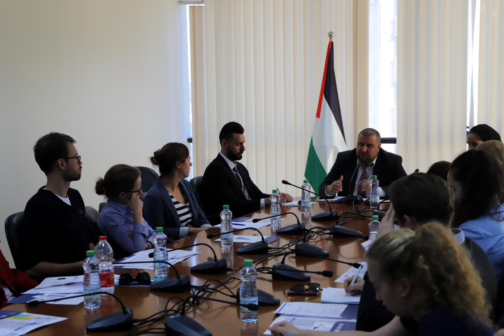 ELES KAS Delegation meets with Palestinian Ministry of Foreign Affairs in Ramallah