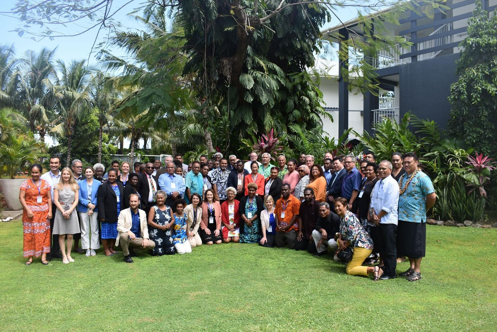 Group photo Political Parties Event, Honiara (SI)
