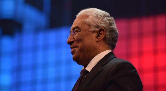 António Costa attending Web Summit 2016 - Opening Night