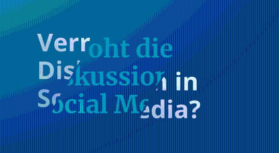 Verroht die Diskussion in Social Media?