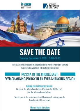 Save the Date Strategic Implications of Russia's Involvement in the Middle East