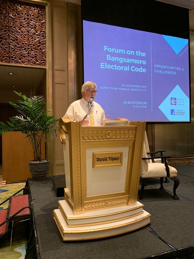 Forum on the Bangsamoro Electoral Code