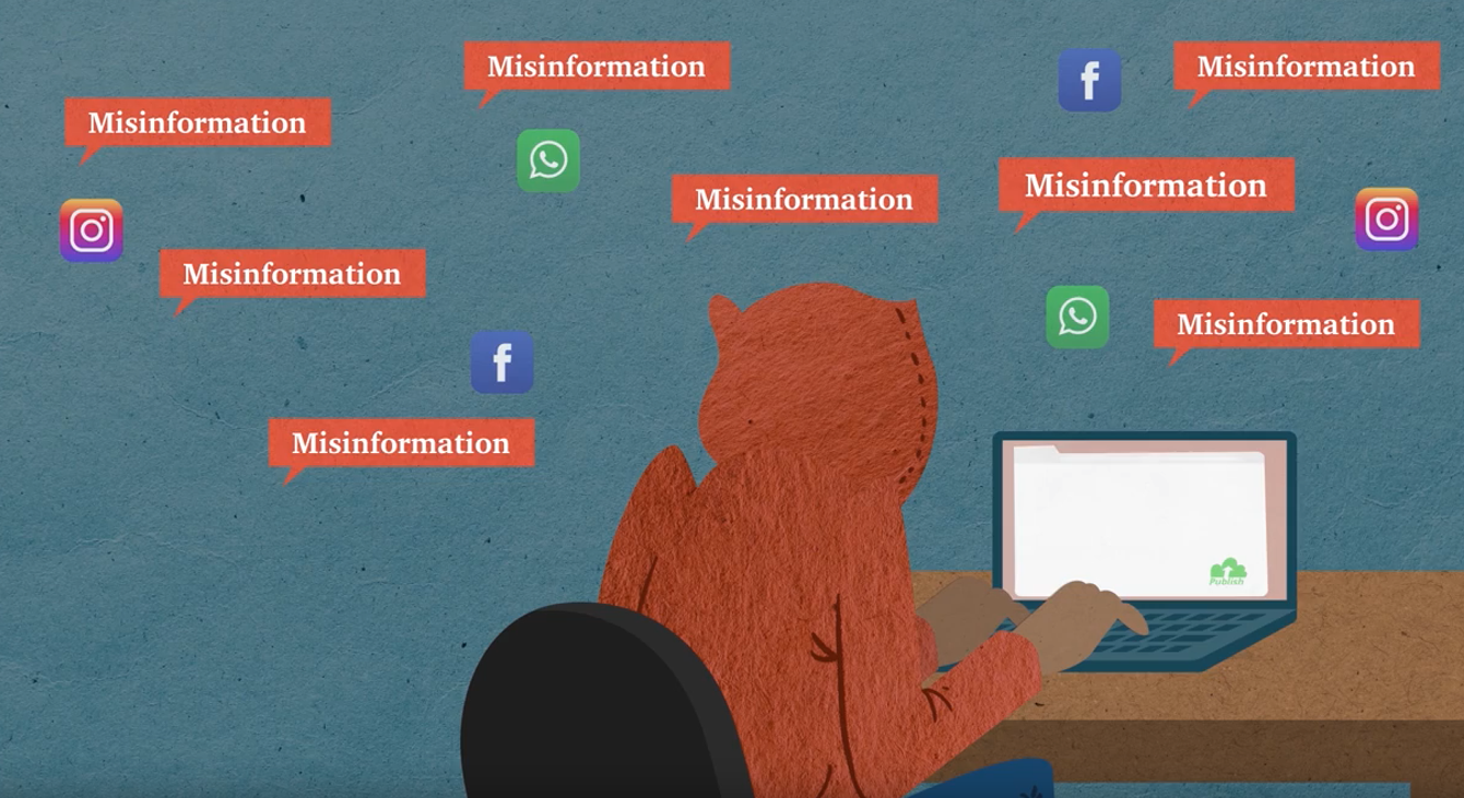 VIDEO: How misinformation spreads online