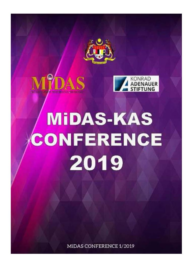 MiDAS-KAS conference report 2019 - Humanitarian Assistance and Disaster Relief: A Shared Responsibility