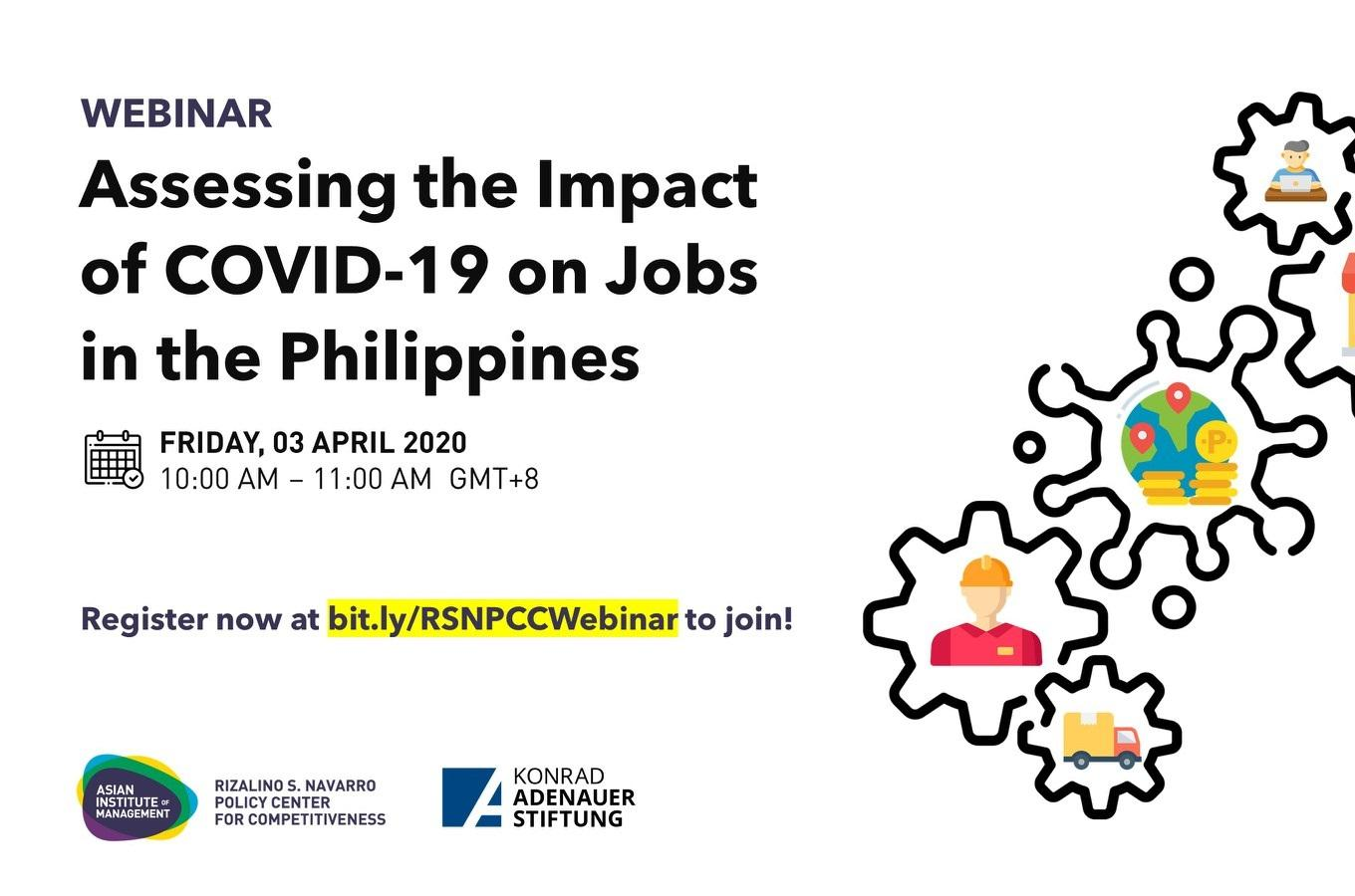 Assessing the Impact of COVID-19 on Jobs in the Philippines
