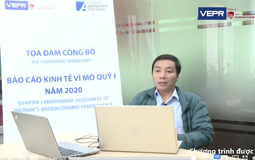 Dr. Pham The Anh presents VERP economic report Q1/2020