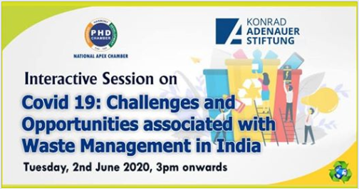 PHD-KAS Covid 19: Challenges and Opportunities associated with Waste Management in India