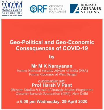 MMA-KAS Geo-Political and Geo Economic Consequences of COVID-19