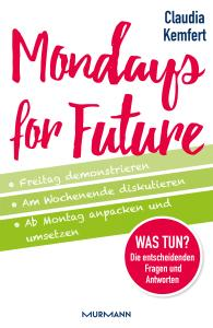 "Buchcover ""Monday for future"""