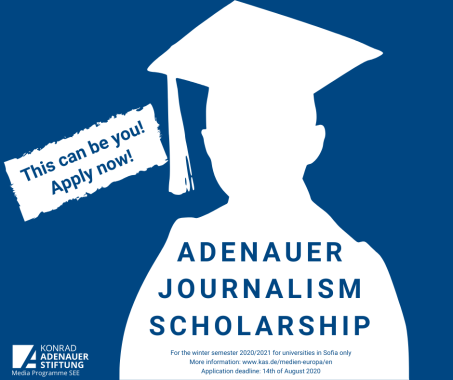 Adenauer Journalism Scholarship
