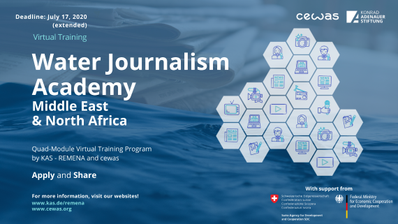 Water Journalism Academy Social Media