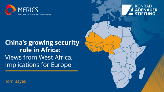 Study Presentation China's growing security role in Africa: Views from West Africa, Implications for Europe""