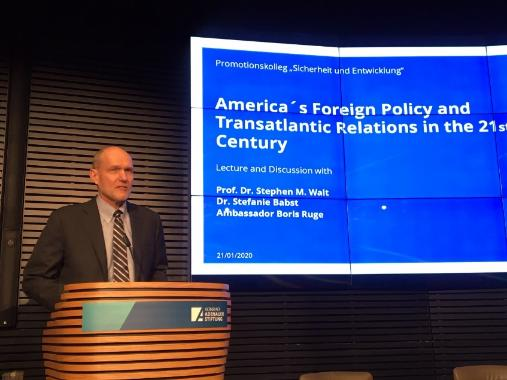 America's Foreign Policy and Transatlantic Relations in the 21st Century