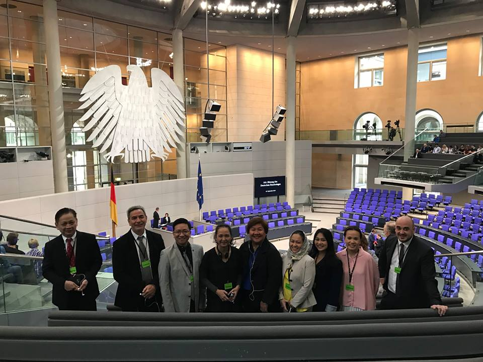 Philippine Delegation in German Bundestag