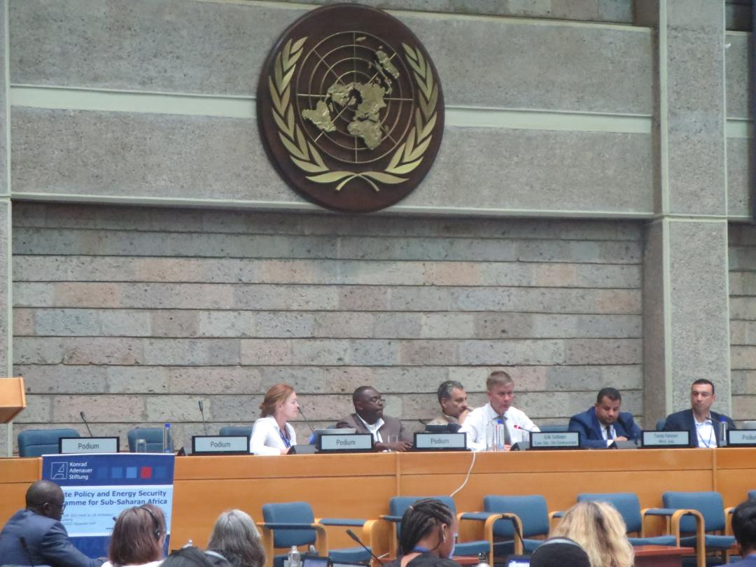 High Level Panel and UN Environment Executive Director Erik Solheim