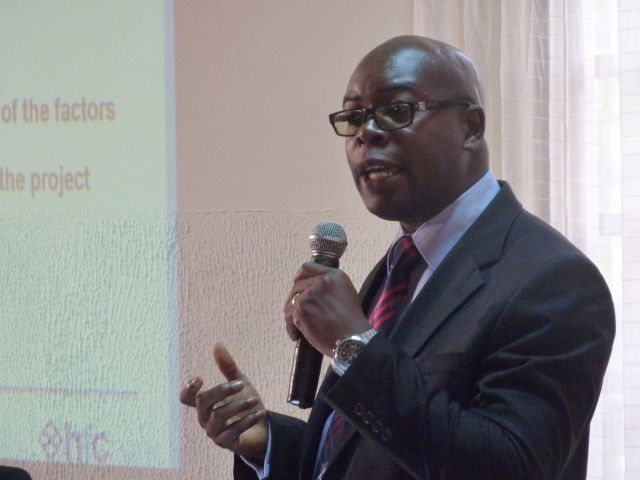 Presentation at workshop in Accra