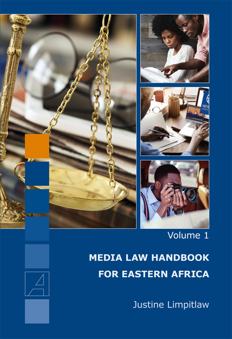 Cover: Media Law Handbook for Eastern Africa