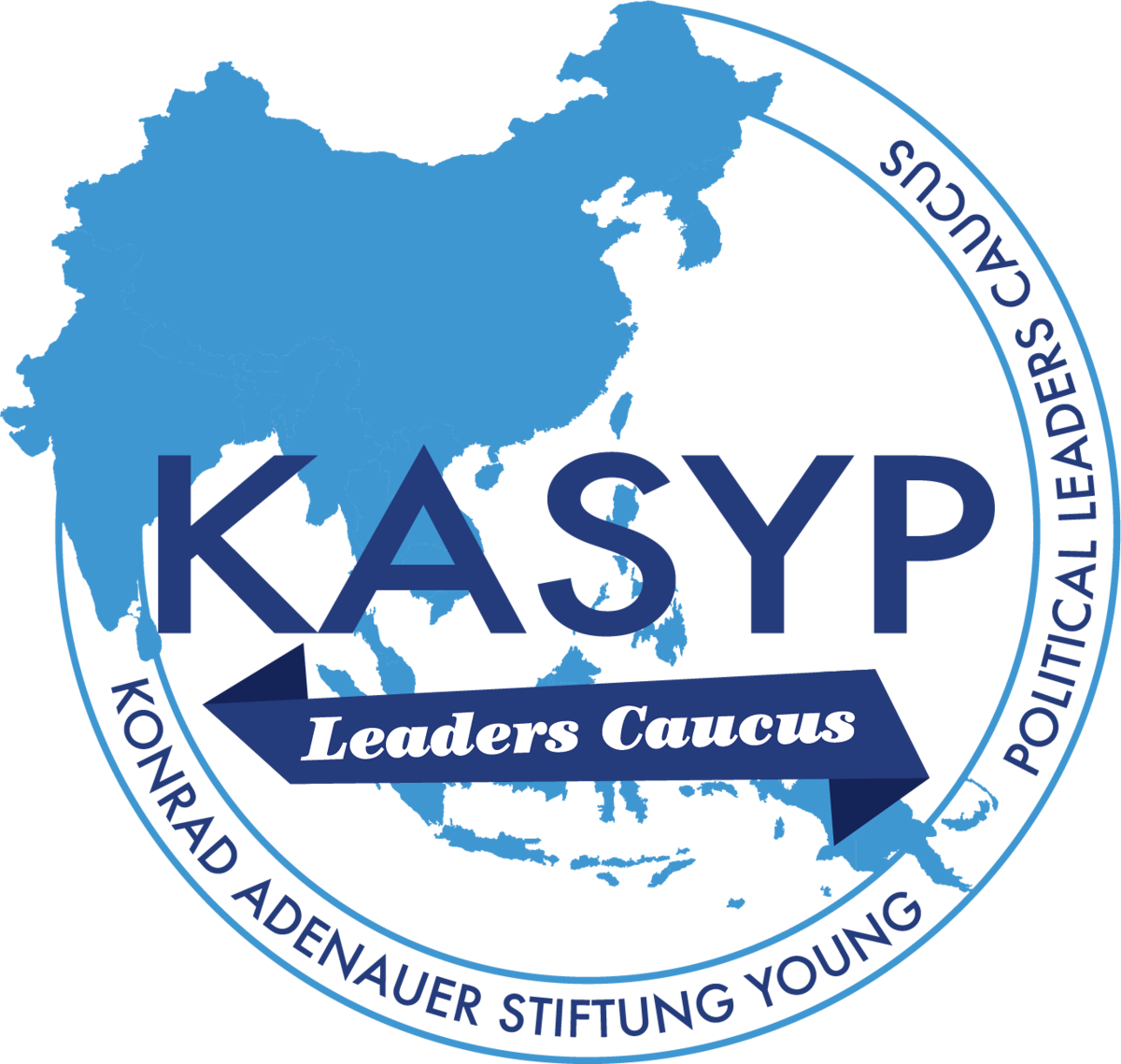 The official logo of Konrad Adenauer Stiftung Young Political Leaders Caucus (KASYP-LC)