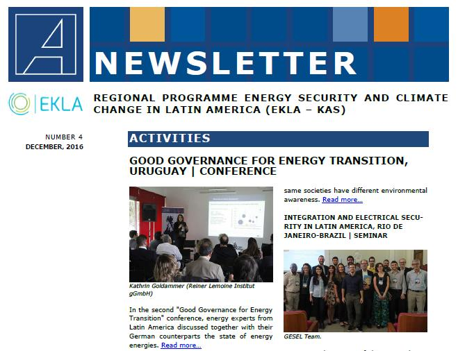 Newsletter N°4 EKLA KAS