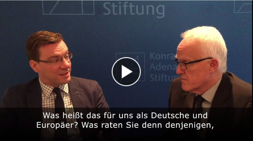 Jürgen Rüttgers Video Interview