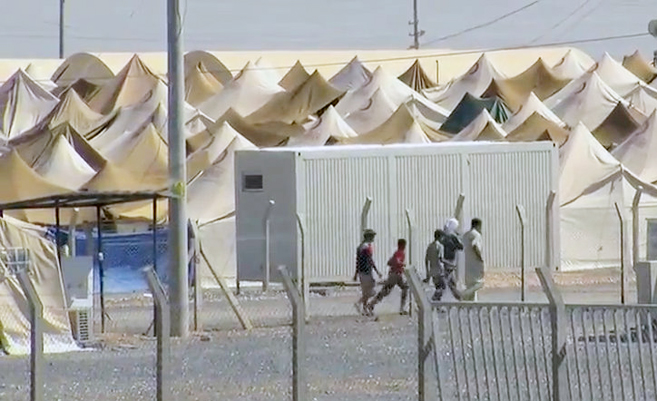 Syrisches Flüchtlingslager | Foto: Voice of America News / Wikimedia