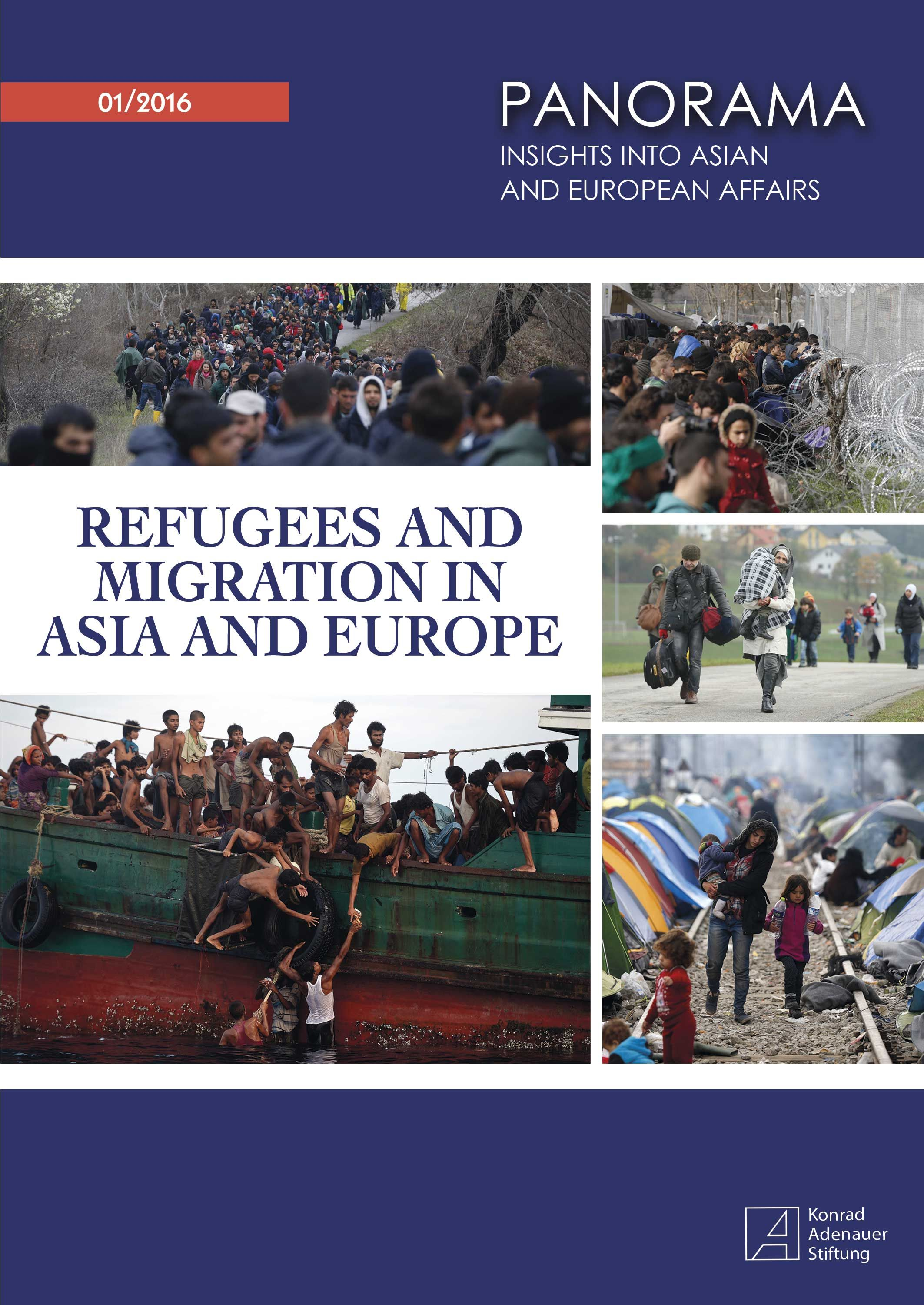 Cover: Refugees and Migration in Asia and Europe