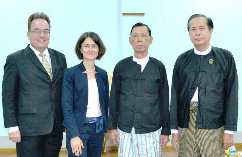 Besuch 16-05-18 Constitutional Tribunal Myanmar