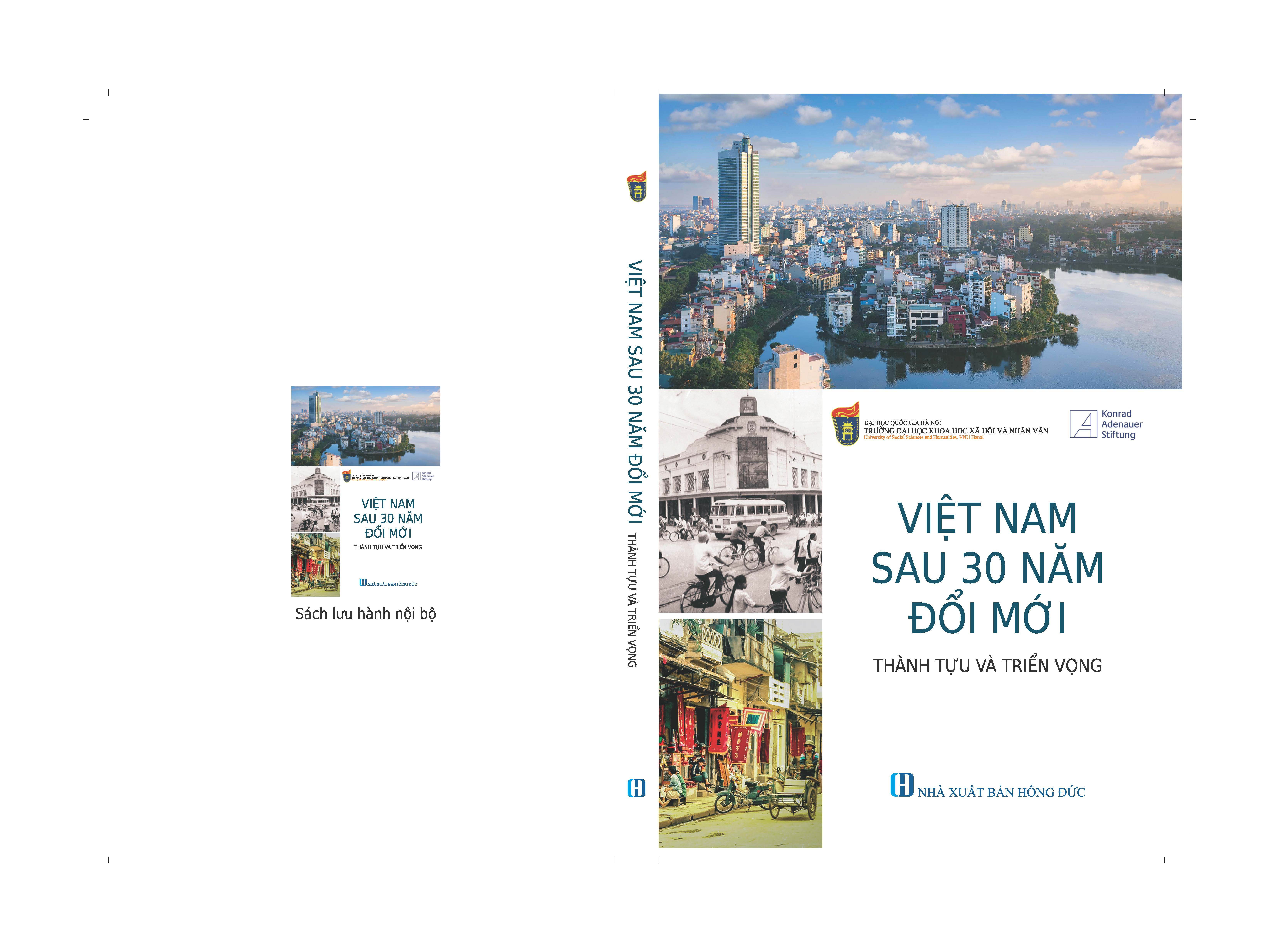 "Cover: The proceedings of the conference ""30 Years of Doi Moi: Success, Lessons and Prospects"""