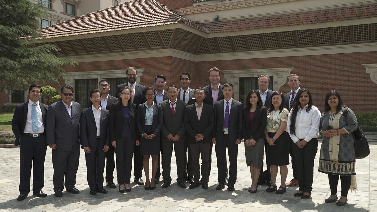 The group of KASYP batch 8 at the third workshop in Nepal.