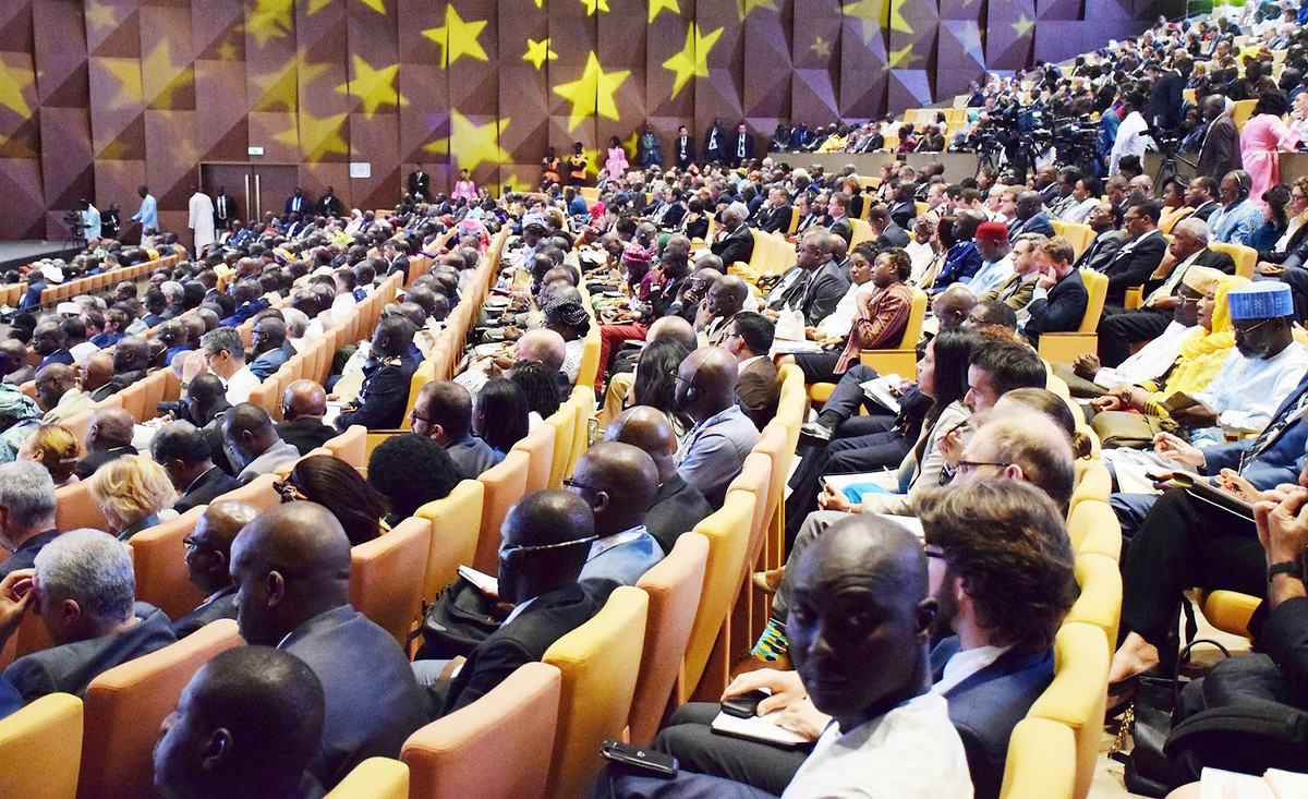 Blick ins Plenum des Dakar Forum on Peace and Security