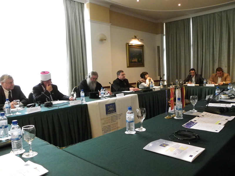 Meeting with heads of religious communities