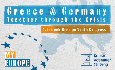 Greek-German Youth Congress Logo
