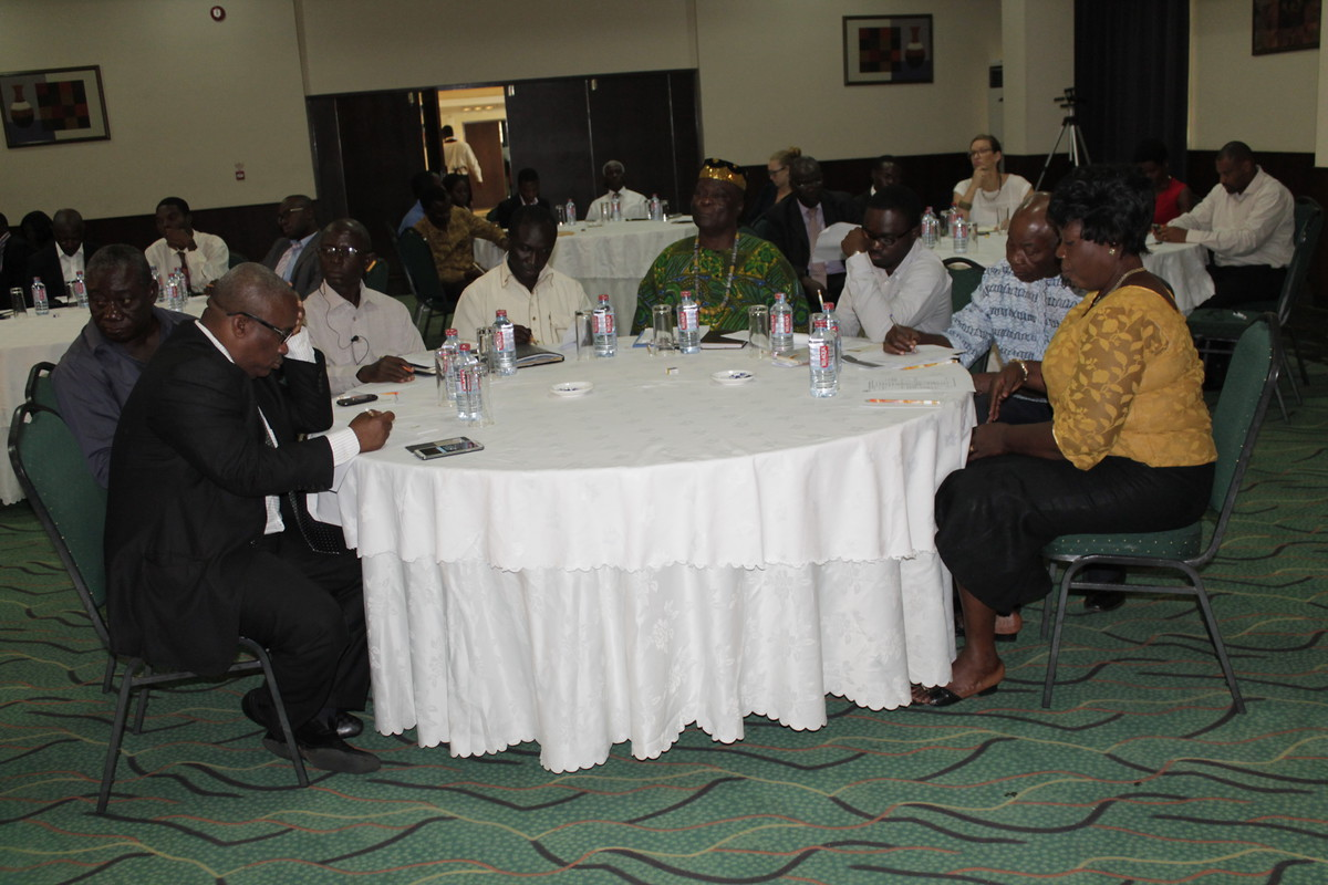 Mapping of Environmental and Climate Change Projects in Ghana