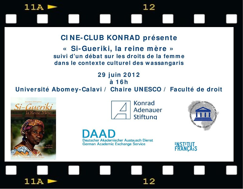 Invitation Ciné Club Konrad