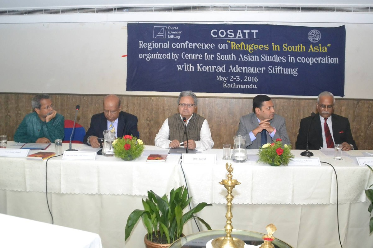 REGIONAL CONFERENCE ON REFUGEES IN SOUTH ASIA