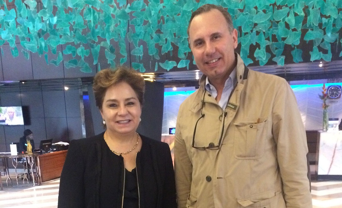Madame Patricia Espinosa, the Executive Secretary of the United Nations Framework Convention on Climate Change (UNFCCC); Prof. Oliver Ruppel, director of KAS Regional program Climate Policy and Energy Security for Subsaharan Africa