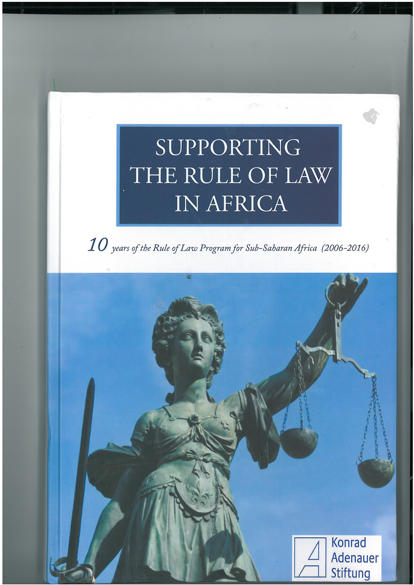 10 years of the Rule of Law Program for Sub-Saharan Africa