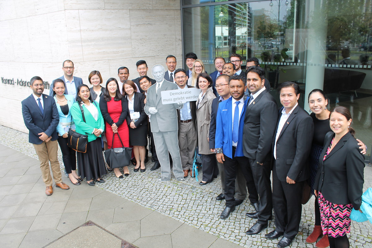 Group Photo with KAS Team Asia and Pacific @ KAS Berlin