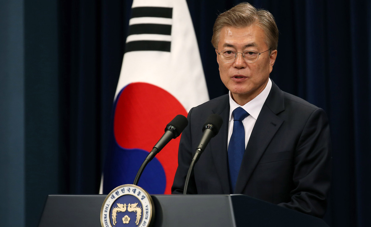 Moon Jae-in ist der 12. Präsident der Republik Korea und Nachfolger der entmachteten Park Geun-hye. | © Republic of Korea / Jeon Han / Flickr / CC BY-SA 2.0