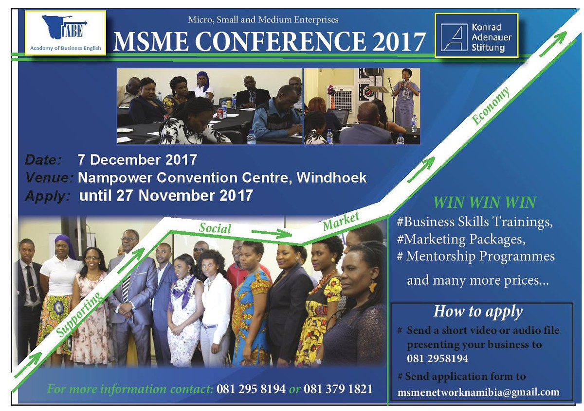 Advert for the 2017 SMS Conference