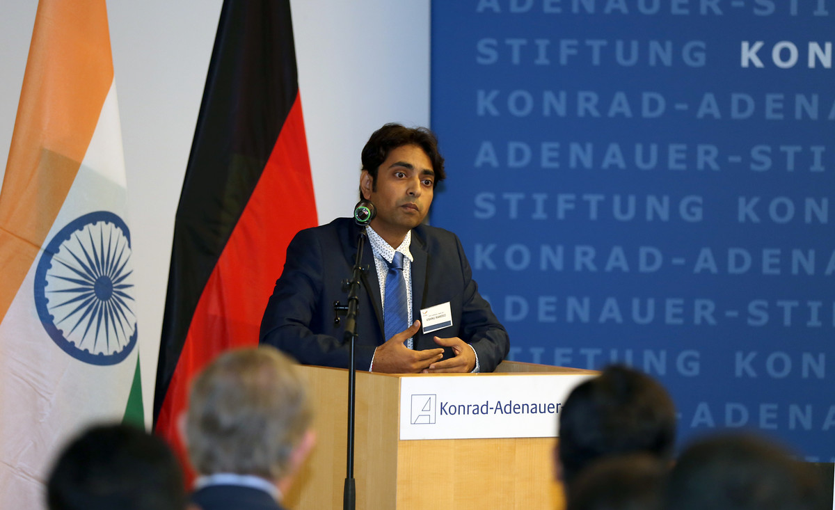 Dr. Vishnu Ramdeo, Ko-Vorsitzender des Indo-German Young Leaders Forum