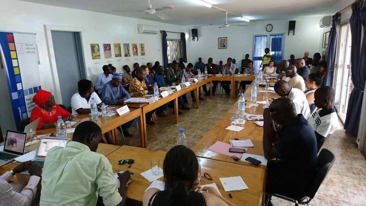 Round-Table-Diskussion zum Wahlausgang Parlamentswahl 2017 Senegal