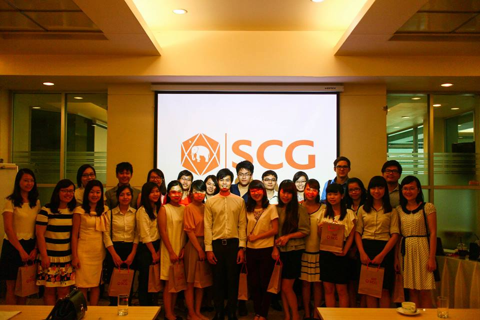 Students from Foreign Trade University and Representatives of SCG