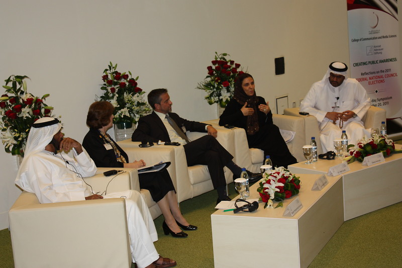 1. Panel on Media at FNC conference