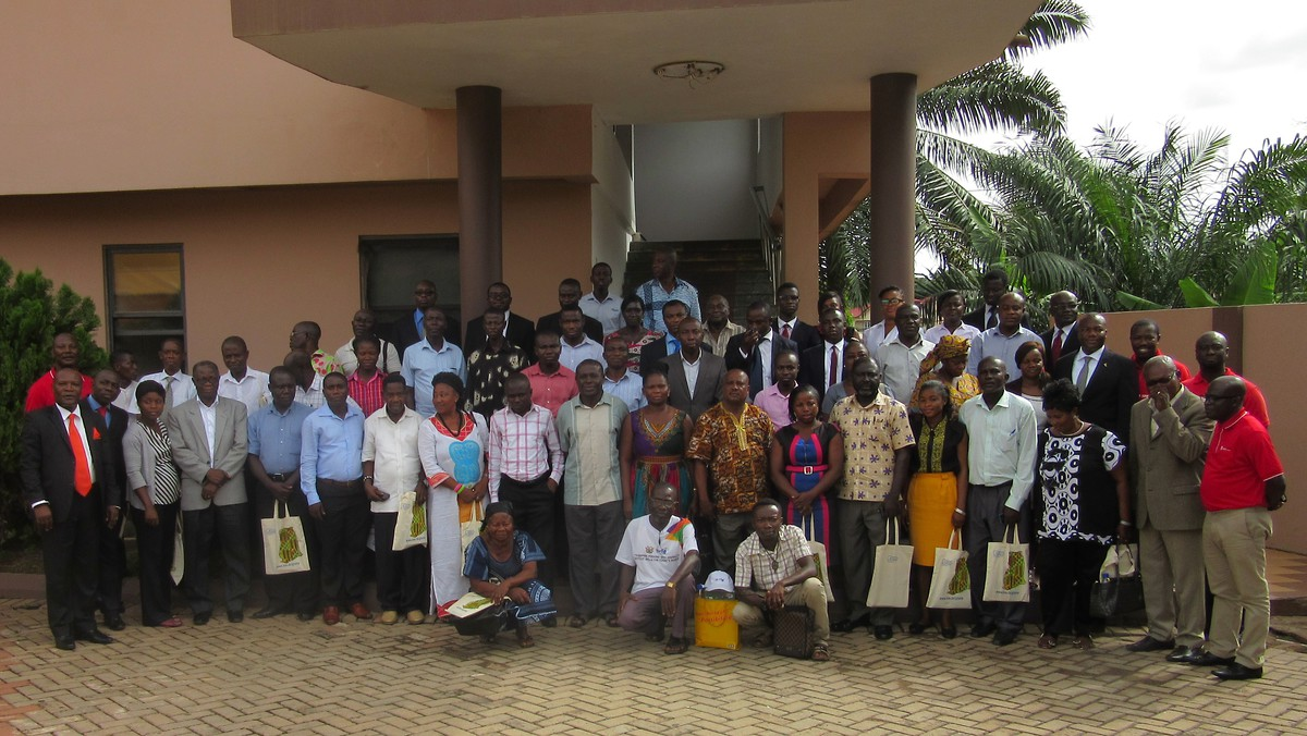 Participants at the seminar on Financial Literacy organized by PEF with support form KAS