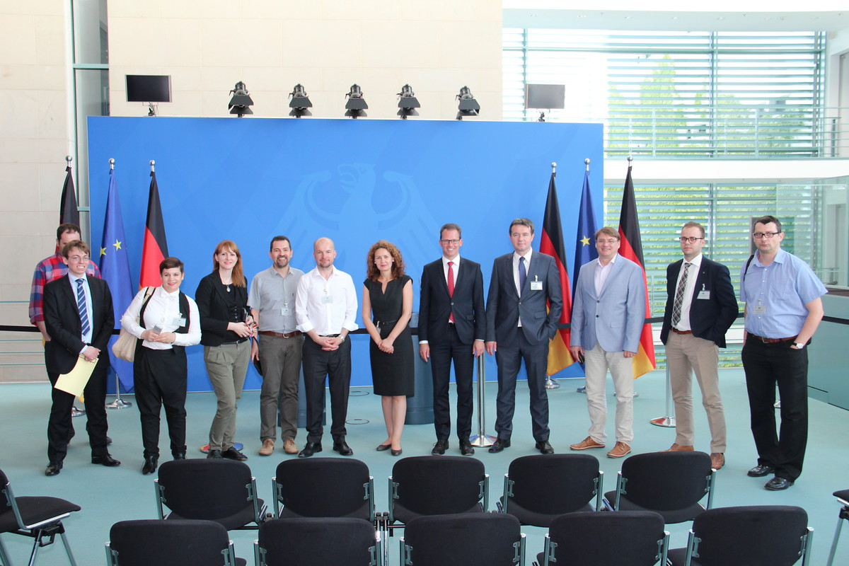 From 5 to 11 June the journalists gained information about the media system and political communication in Germany.